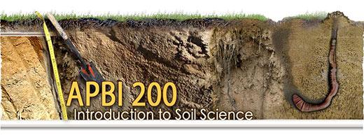 APBI 200 - Introduction to Soill Scienece